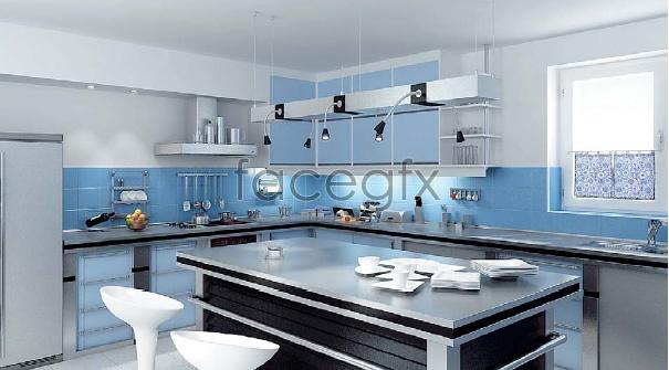 Boutique kitchen 3D model