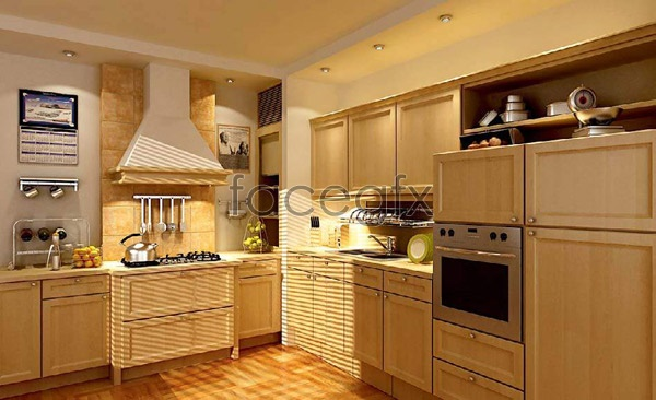 Kitchen picture 3 3D model