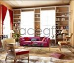 European-style living room 3D model