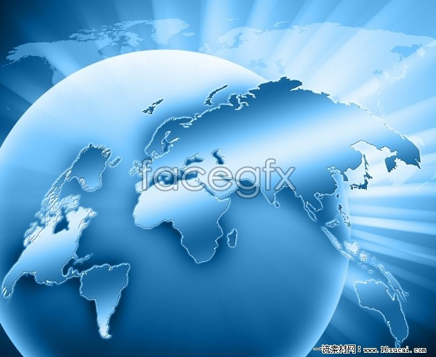 Blue backgrounds high resolution images of the Earth