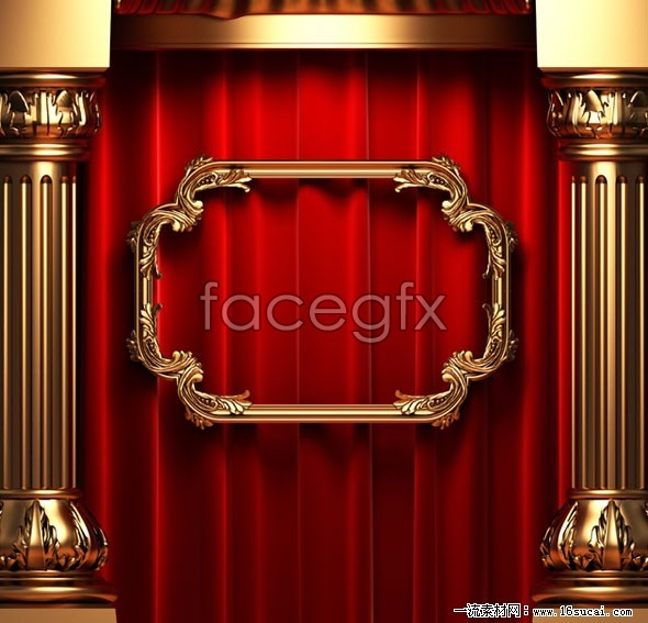 HD stage background picture