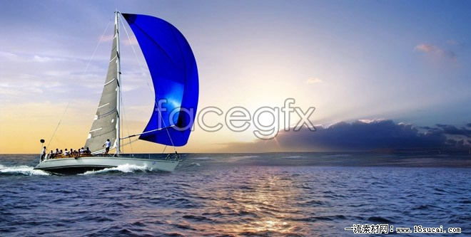 Offshore sailing high definition pictures
