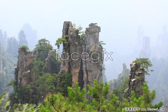 Zhangjiajie scenic high definition pictures