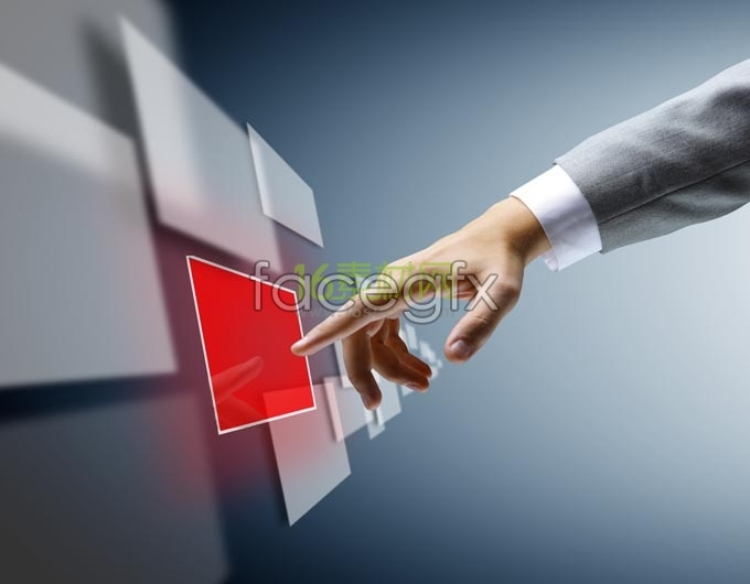 High-tech touch-screen high definition pictures