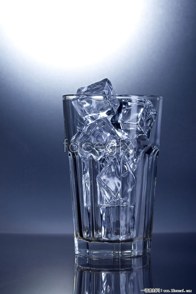 Ice glass HD picture