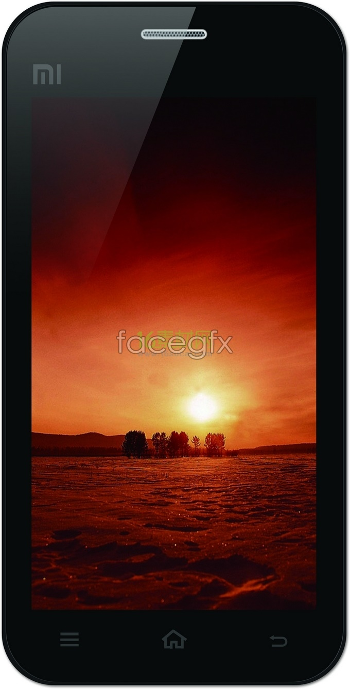 Millet touchscreen Smartphone HD pictures