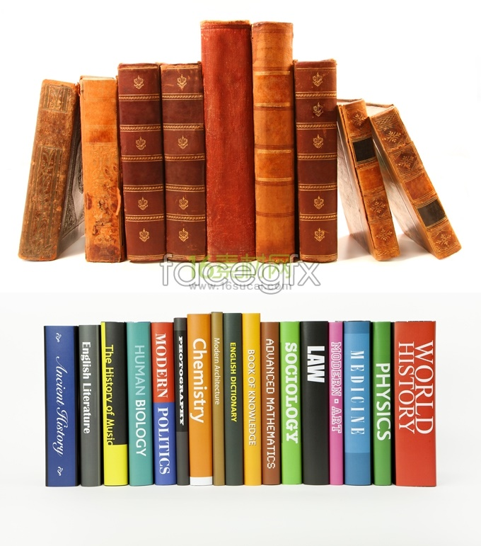 Stacking books high definition pictures II