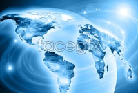Global business technology background high definition pictures