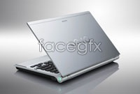Silver gray Notebook HD pictures