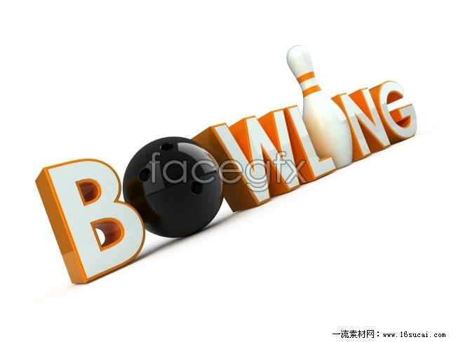 Bowling creative logo HD picture