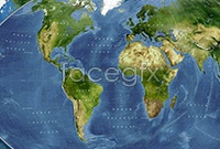 High resolution images of the Earth