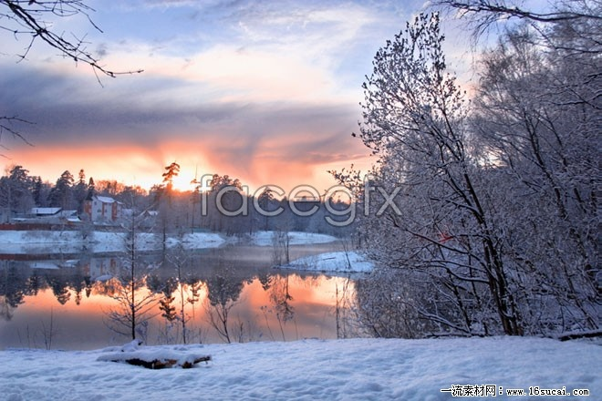 Winter snow high definition pictures