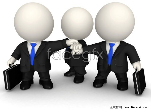 3D small business team HD pictures