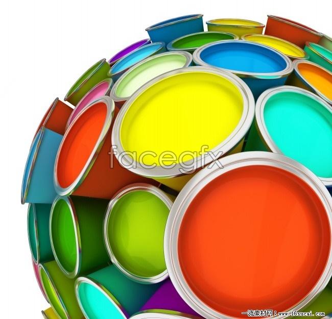 Color paint high definition pictures