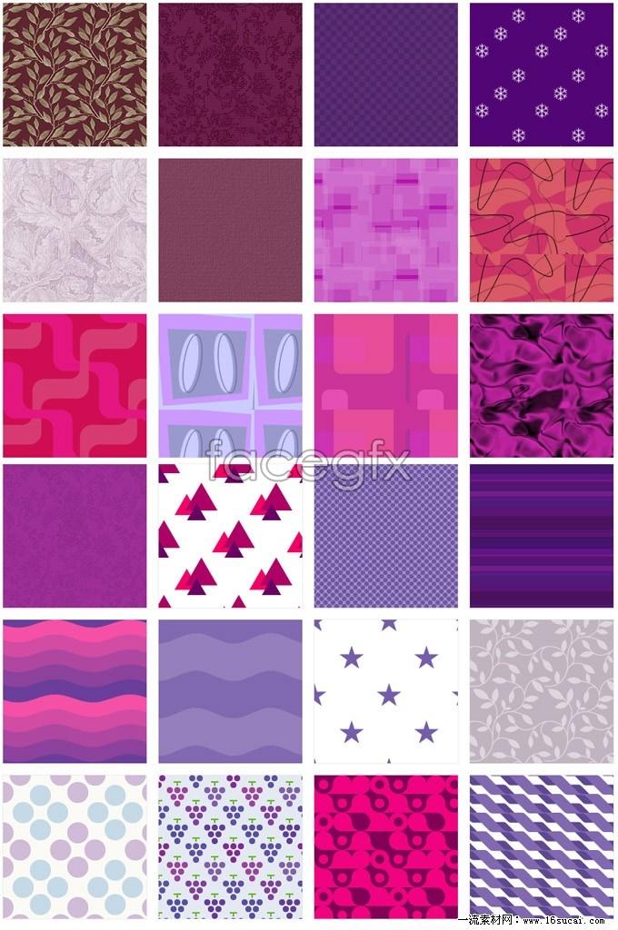 Beautiful purple background greatest hits