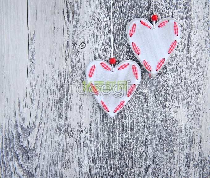 Heart-shaped non-mainstream creative HD pictures