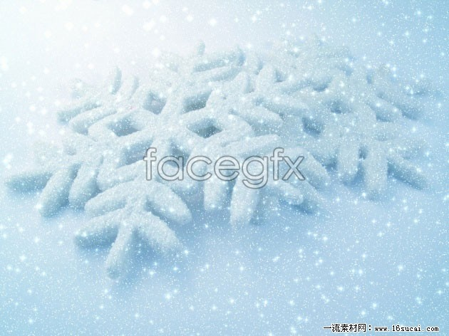 Snowflake background high definition pictures