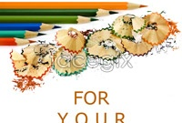 Pencil shavings for school supplies high definition pictures