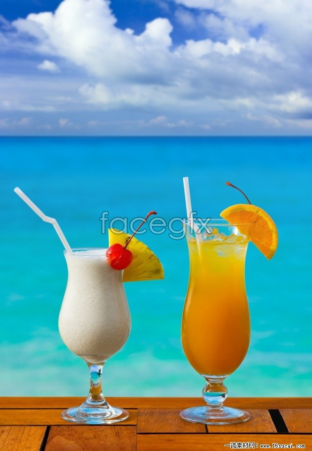 Beach juice high definition pictures