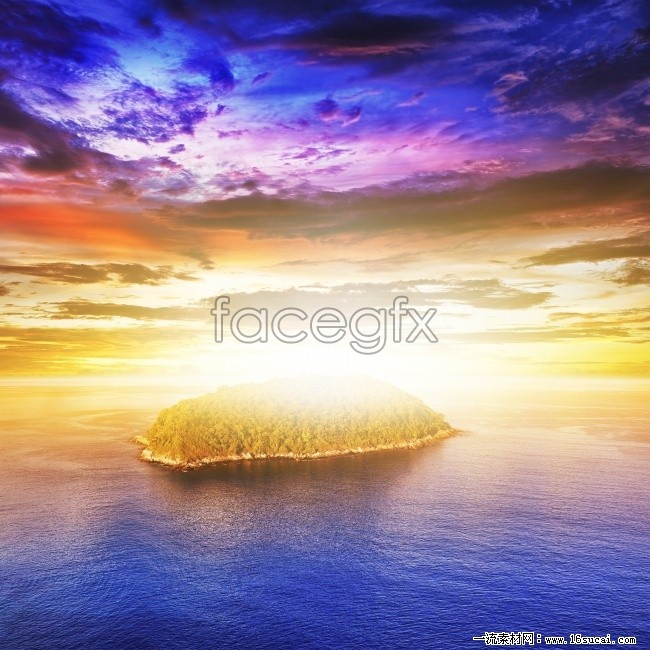 Beach Sunset landscape high resolution images