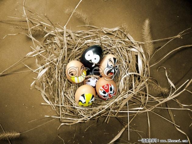 Bird egg art HD Photo