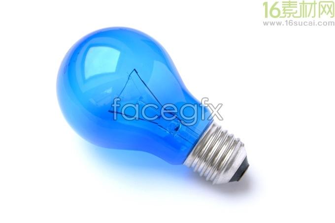Blue bulb HD Photo