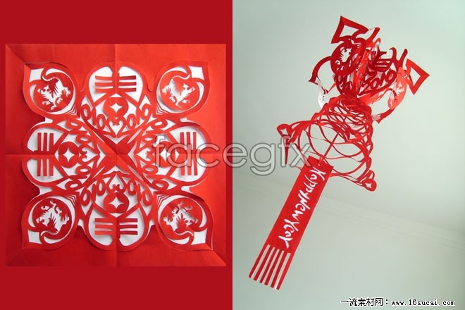 Chinese traditional paper-cutting HD picture