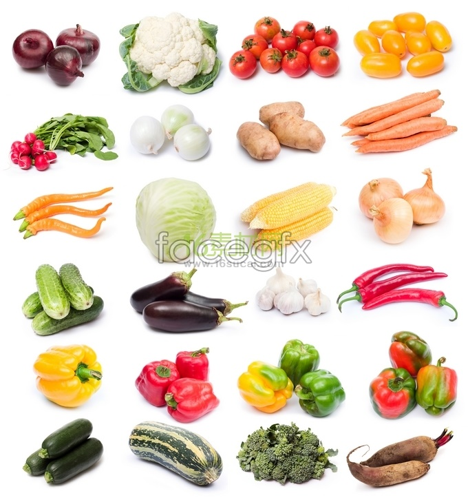 Common types of vegetable high definition pictures