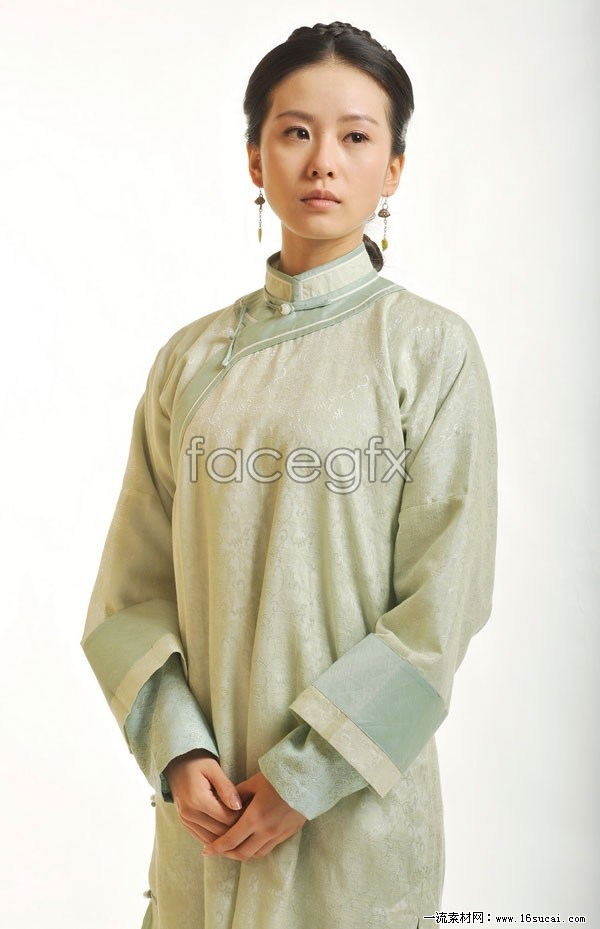 Costume Liu Shi poetry HD picture