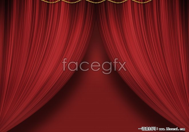Red Curtain background high definition pictures