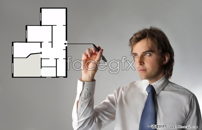 Technical personnel of science and technology high definition pictures
