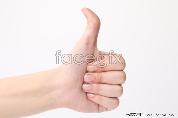Thumb up sign HD Photo