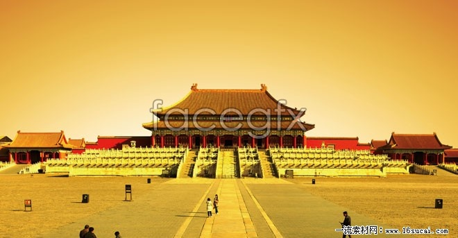 Ancient Palace building HD picture