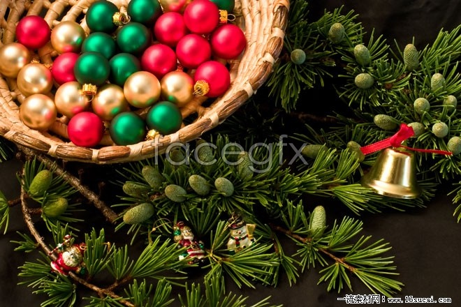 Christmas balls high definition pictures