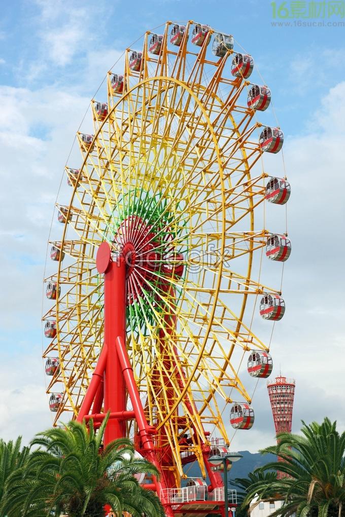 Ferris wheel, HD Photo