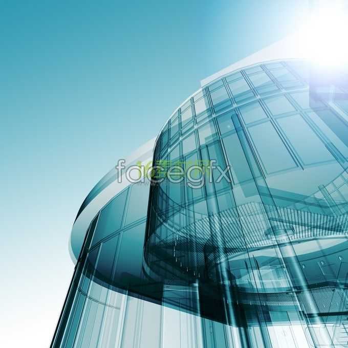 HD city modern style architecture pictures