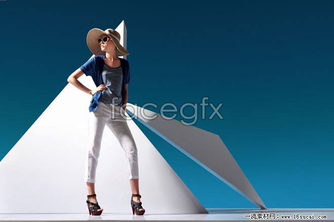 HD photography fashion female model pictures