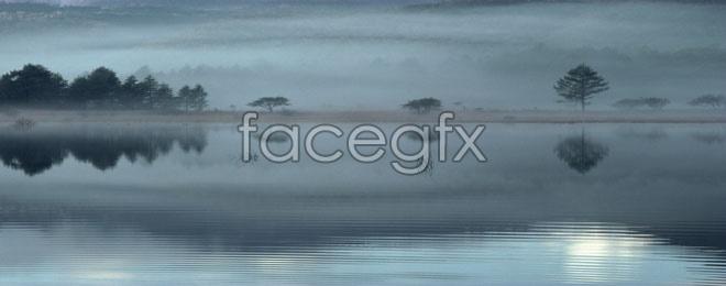 Ink Lake landscape high resolution images