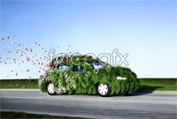 Creative Green cars HD pictures