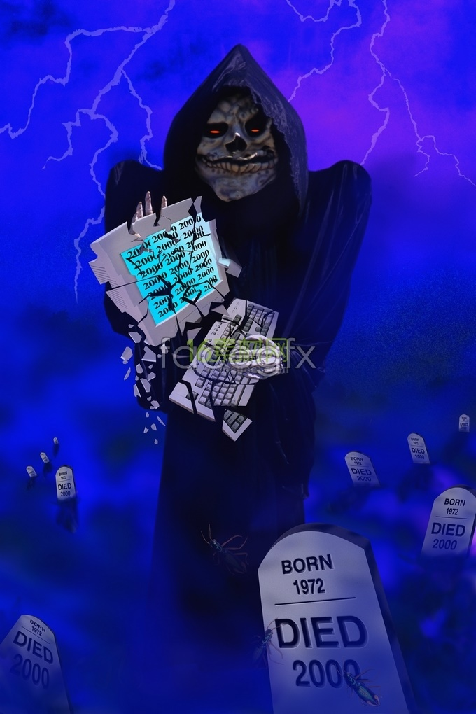 Witch Halloween skull pictures