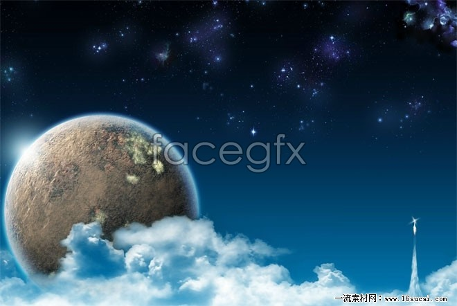 Lunar satellite picture HD picture