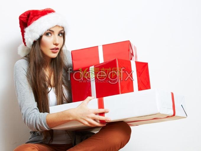 Christmas beauty gifts HD Photo