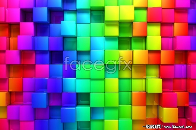 Color stereo Plaid background picture