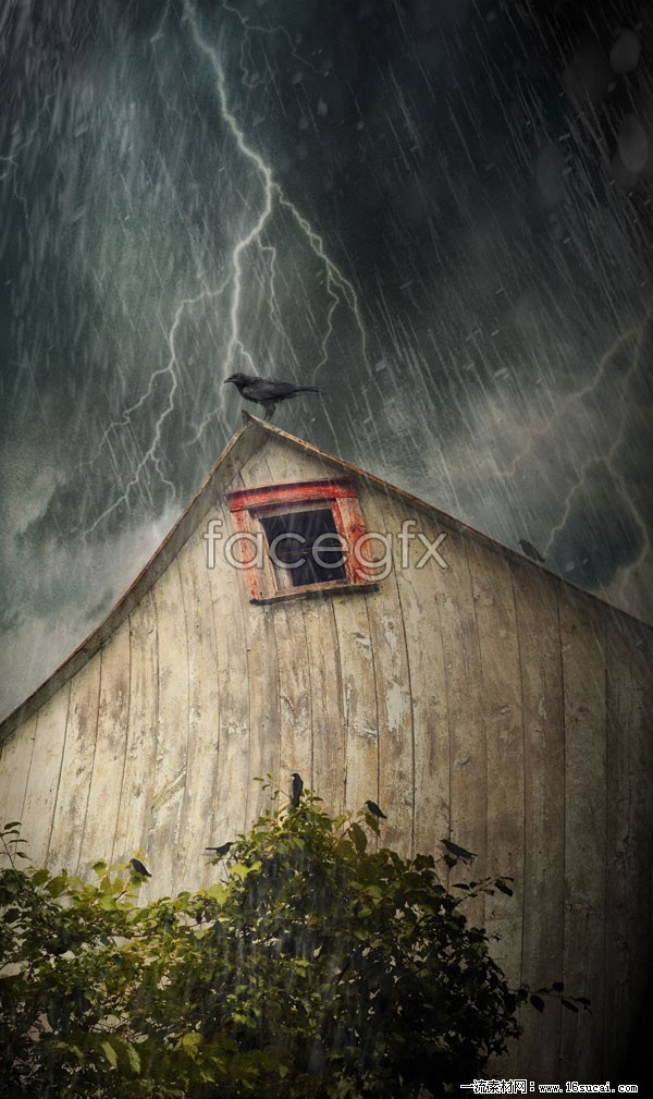 HD Halloween Haunted House picture
