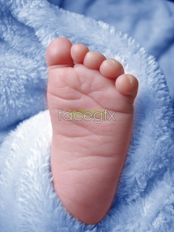 Pink baby, kids foot HD pictures