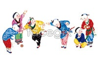 Traditional Chinese people HD pictures