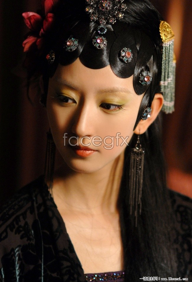 Yifei Tang costume dream HD pictures