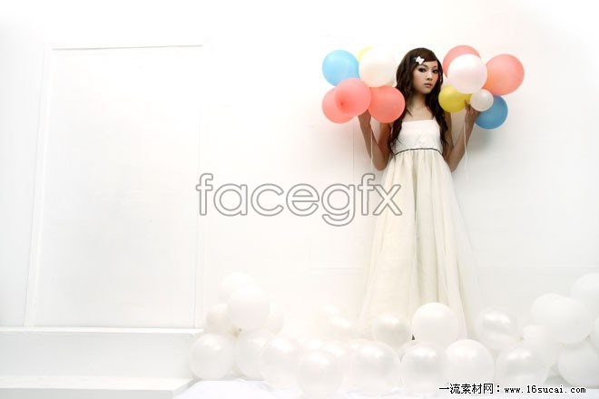 Balloon white beautiful HD pictures