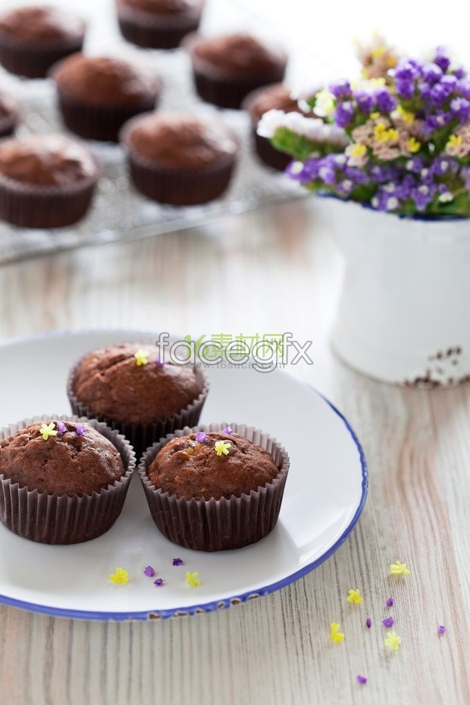 Chocolate dessert high definition pictures