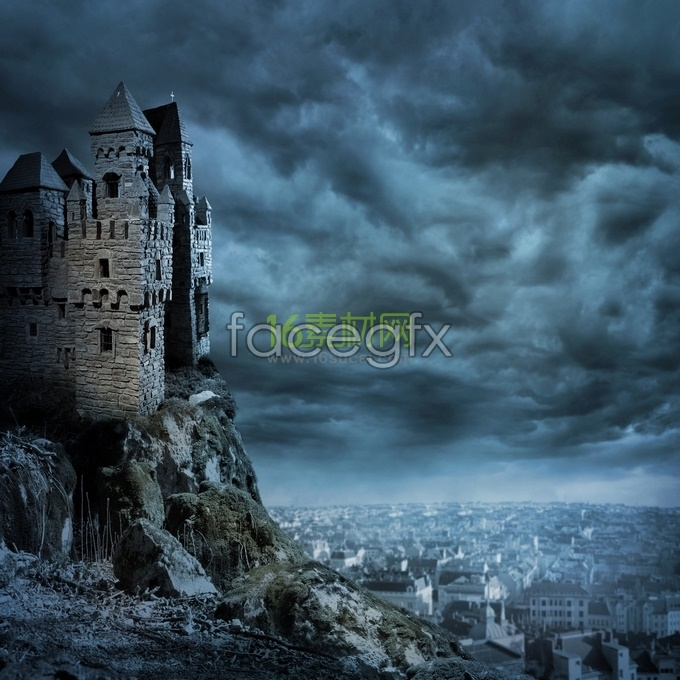 European Castle HD pictures